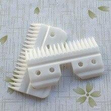 20 шт./лот, 18 зубов или 25 зубов, Керамические Подвижные лезвия, запасные части с блистером, посылка