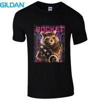 Men S 2017 Fashion Creative T Shirts Guardian Of The Galaxy 2 Movie Poster Logo In