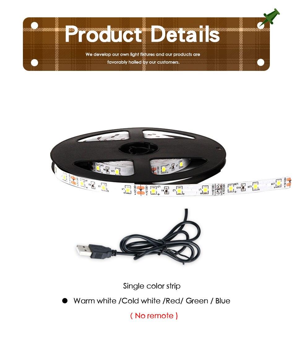 HTB1.HkLTCzqK1RjSZFpq6ykSXXah DC 5V LED Strip 3Key USB Cable Power Flexible Light Lamp 50CM 1M 2M 3M 4M 5M SMD 2835 Desk Screen Tape TV Background Lighting