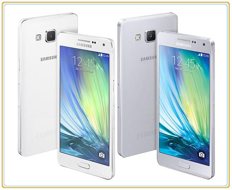 Samsung Galaxy A5 Duos Debloque Original 4g GSM Android Mobile Telephone Double Sim A5000 Quad Core 50 13MP RAM 2 Gb ROM 16 Dans Telephones De