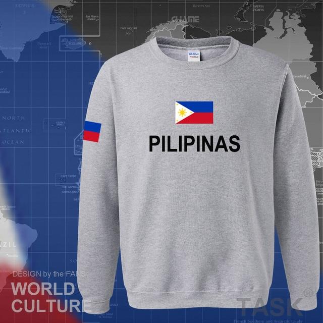 Philippines hoodies men sweatshirt sweat new hip hop streetwear clothing jerseys tracksuit nation Filipino flag PH Pilipinas 1