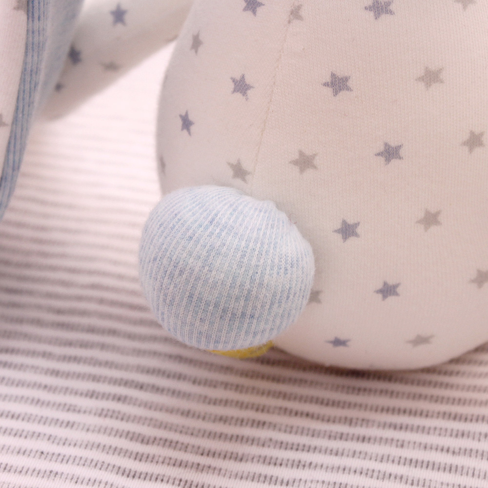 5a9abf80954 SHILOH Baby Infant Sleeping Hug Doll Stuffed Bunny Dolls Plush Rabbit Toys  Pure Cotton Long eared Rabbit Pink   Blue-in Stuffed   Plush Animals from  Toys ...