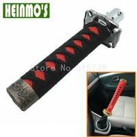 Black Red JDM Katana Shift Knob Car Samurai Sword Shift Gear Knob 150mm W/ Adapters Fits Most Cars for Toyota camry 07 08 09