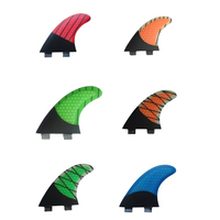 Surfboard FCS Fins G7 Hot Sale Green Blue Orange Fibreglass Surf FCS Quilhas