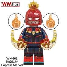 Marvel Avengers Endgame Building Blocks Thanos Hammer of Thor Captain America Iron Man Infinity Glove Kids Boys Toys Kit WM6056