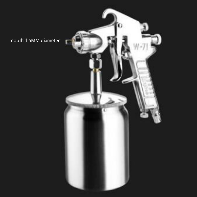 w71 Car Paint Tool Spray gun kettle Spray paint device mouth diameter 1 5MM Uniform distribution 400 600ML in Car Paint Tool from Automobiles Motorcycles