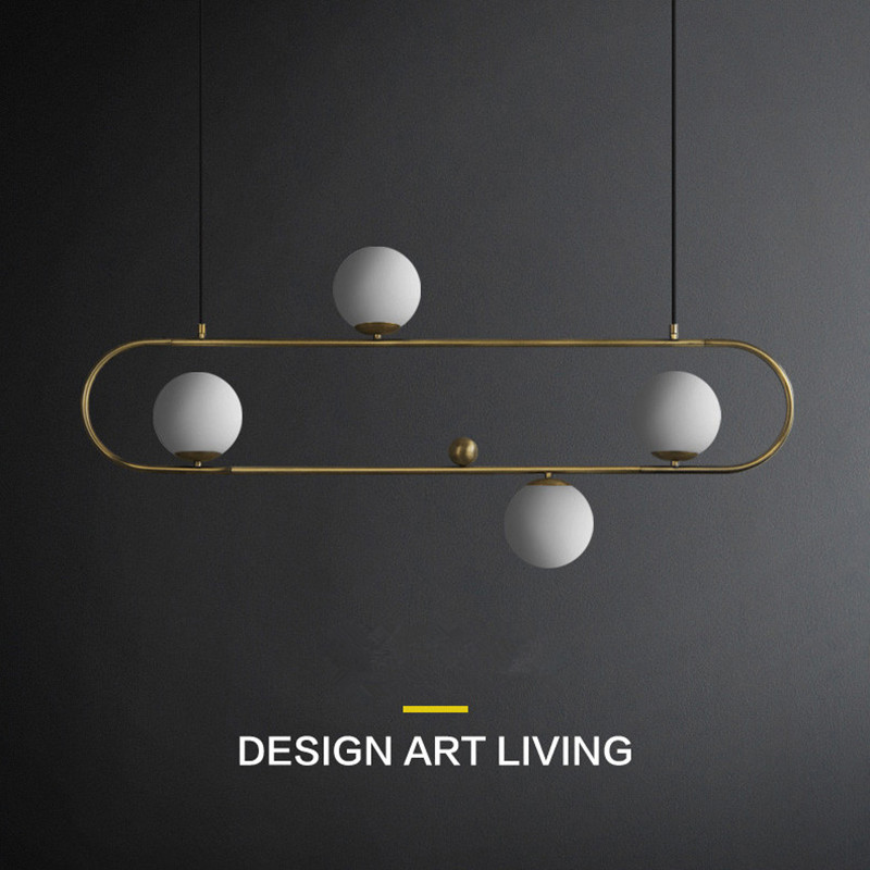 lampara techo colgante Nordic Bedroom Living Room Glass LED Hanging Lights Restaurant Bar Kitchen Decor LED