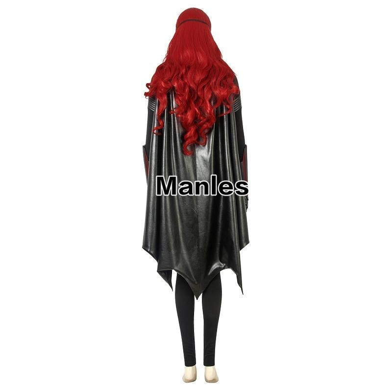 Batwoman Costume Katherine Rebecca Kate Kane Cosplay Brightbat Adult DC Comics Halloween Carnival Full Set With Boots Wig Female-in Movie & TV costumes from Novelty & Special Use    2