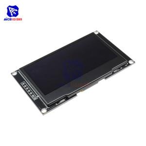 Image 4 - Модуль ЖК дисплея diymore на органических светодиодах 2,4 дюйма, 2,42x64, 128 дюйма, SSD1309, 12864, 7 контактный последовательный интерфейс SPI/IIC I2C для Arduino UNO R3 C51
