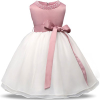 Kids Summer Lace Dresses For Baby Hundred Days Princess Ball Gown For 1 2 Years Old