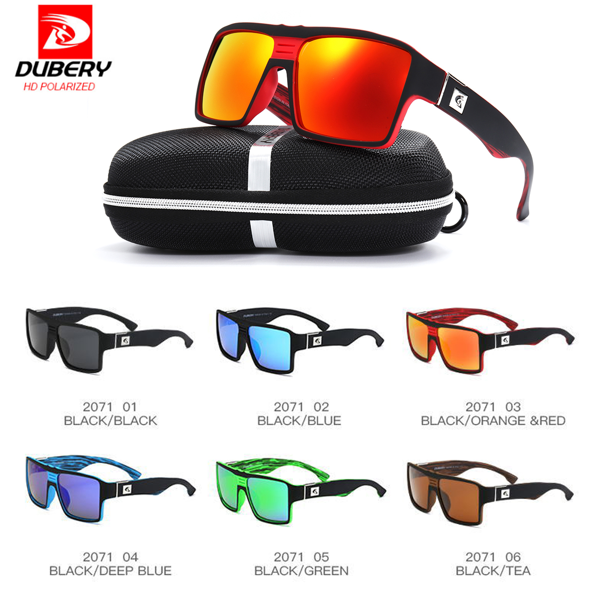 93155e4eca6b Detail Feedback Questions about DUBERY D729 Cycling Glasses Men Women  Polarized Sunglasses Bike Eyewear Bicycle Goggles Driving Fishing Outdoor  Sports ...