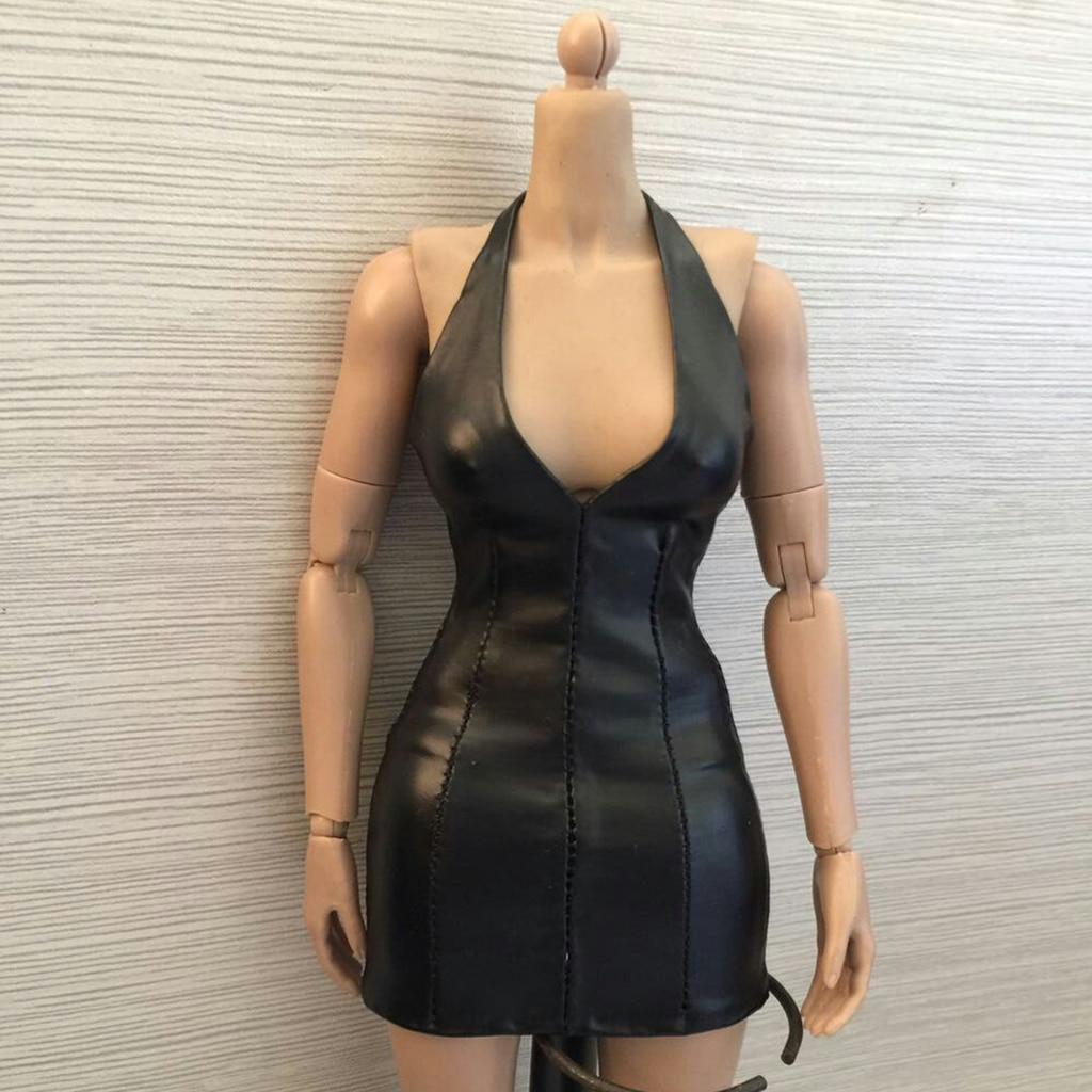 "1:6 Figure Purple Low collar Stretch a piece of clothing F 12/"" HT PH kumik Body"