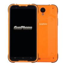 Original Guophone MTK6735 V18 Impermeable Smartphone Android 5.1 de 5.0 pulgadas Quad Core 2G RAM 16 GB ROM 4500 mAh 4G lte Mobile Teléfono