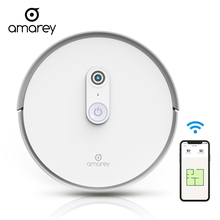 Amarey Robot Vacuum Cleaner 1400pa Super Aspirador Cleaner For Automatic Ilife Sweeping Vacuum Cleaner For Home App Control A900 robot vacuum cleaner ilife v55 robot wireless handheld vacuum cleaner cleaning for home new robot vacuum cleaner ilife a40 for h