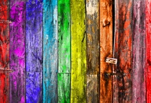 Laeacco Wooden Backdrops For Photography Colorful Board Planks Texture Baby Children Photographic Backgrounds For Photo Studio