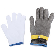 Steel Wire Mesh Safety Gloves Excellent Quality Soft And Comfortable Elastic Outstanding  Durable Quality