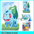 New Design Pokemons Cute Case For Apple iPAD Pro 9.7 Case Tablet 7 inch Cartoon Cover Stand Filp Conque Capa Case Cover Shell