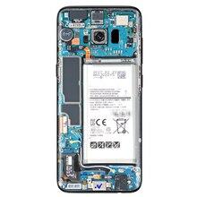 Крутая, легко наносится, имитация, ремонт, водонепроницаемая, задняя наклейка для телефона, самоклеющаяся, полезная, декоративная, Защитная, ПВХ для samsung S8 S9