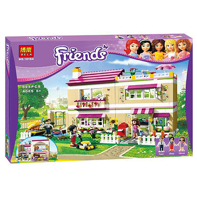 Friends series 10164 Olivias House Doll Girl Games toys bricks Building  Block Toys Develop intellectual toy