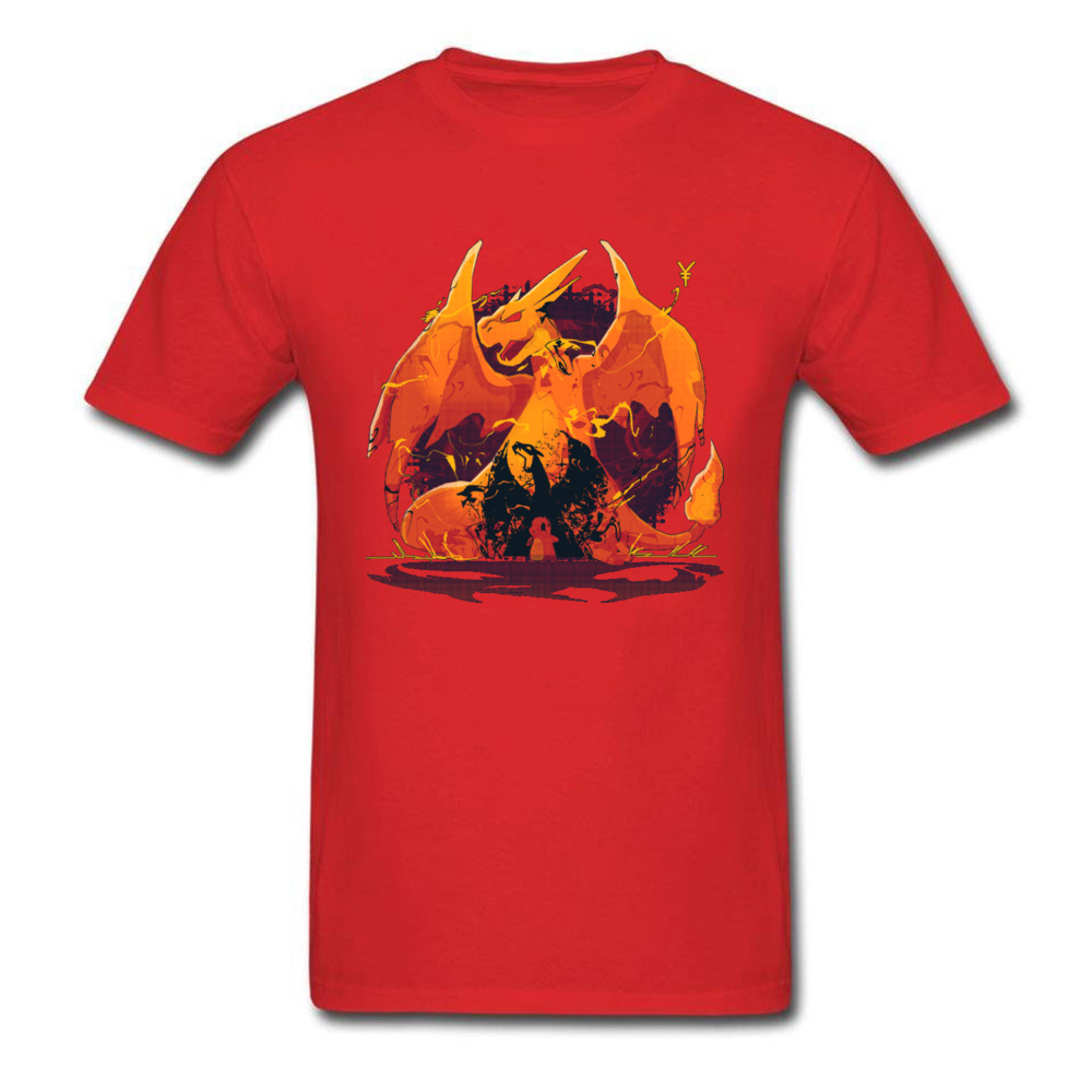 Dungeons-and-Dragons cosie T Shirt for Men Pure Cotton Labor Day Tees Slim Fit T-Shirt Short Sleeve Classic Round Neck Dungeons-and-Dragons red