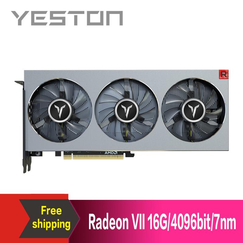 Yeston X16-3.0 Gaming-Graphics-Card Video Pci Express HDMI VII Desktop 4096bit for 3--Dp