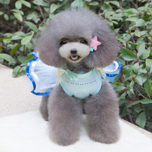 Summer Pet Dress Skirt Dogs Princess Dresses vestidos de renda dog clothes roupa cachorro roupas para cachorro dog dress puppy