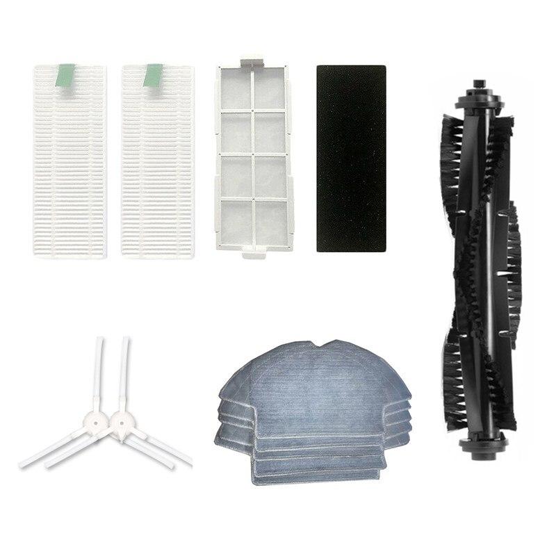 Robot aspirateur vadrouille tissu côté brosses brosse à Main filtre Hepa pour 360 S6 Robot aspirateur pièces accessoires remplacement