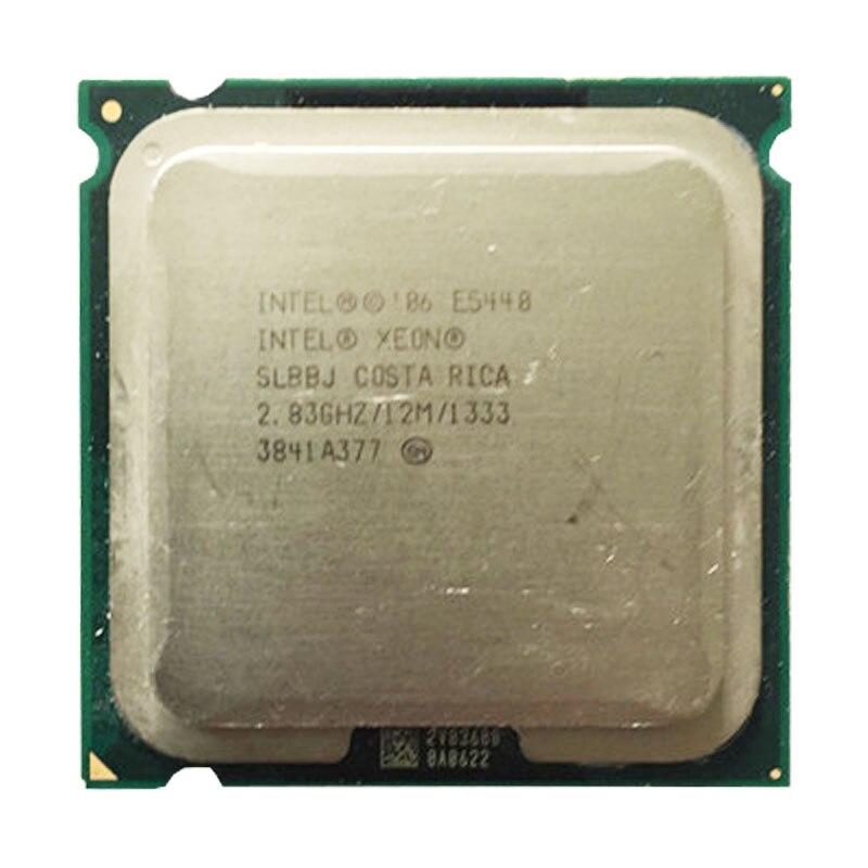 Xeon e5440 cpu 2.83 ghz/lga771/l2 cache 12 mb/quad-core/fsb 1333 mhz/45nm/processador perto de q9650 trabalhar em 775 soquete mainboard