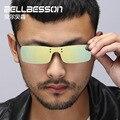 Горячая Продажа Бесплатная Доставка Клип на Очки Оттенки, солнцезащитные очки Клип на Очки, поляризованные Линзы Revo Покрытие, UV400 защиты