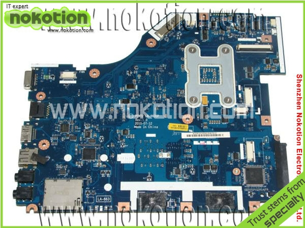 NOKOTION MBR4G02001 MB.R4G02.001 for Acer 5336 laptop motherboard LA-6631P Mother Board Intel DDR3  4KMFG PEW72 nokotion laptop motherboard for acer aspire 5820g 5820t 5820tzg mbptg06001 dazr7bmb8e0 31zr7mb0000 hm55 ddr3 mainboard