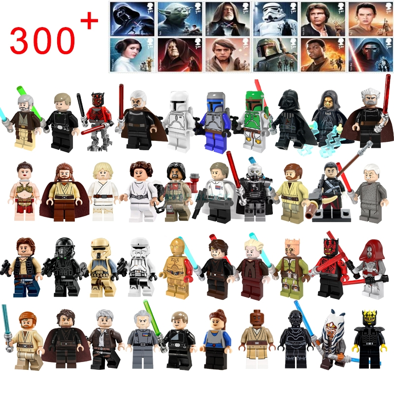 Single Sale Thrawn C3Po Star Wars Bib Fortuna Lando Han Grand Yoda Figures Building Blocks Compatible With Starwars