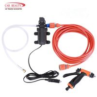 High Pressure Cleaner Car Washer 12V Spray Gun Pump Cleaner Care Washing Machine Electric Auto Wash Maintenance Tool Accessories