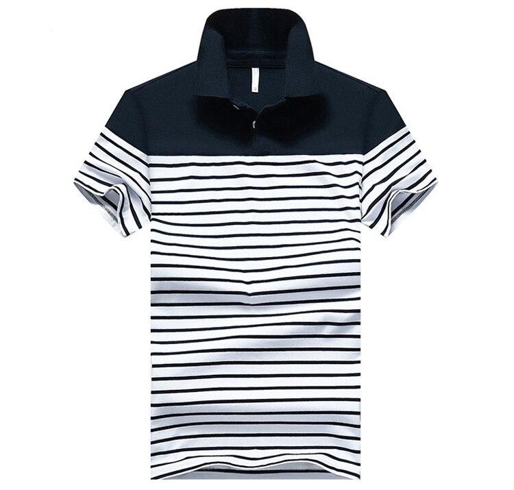 ... 2017 Striped POLO Camisas dos homens 4XL Polos Artigo Camisas de  Algodão de Manga Curta Roupas de Verão Masculino Camisa Polo Dos Homens Da  Marca SA329 bb964c075a4a1