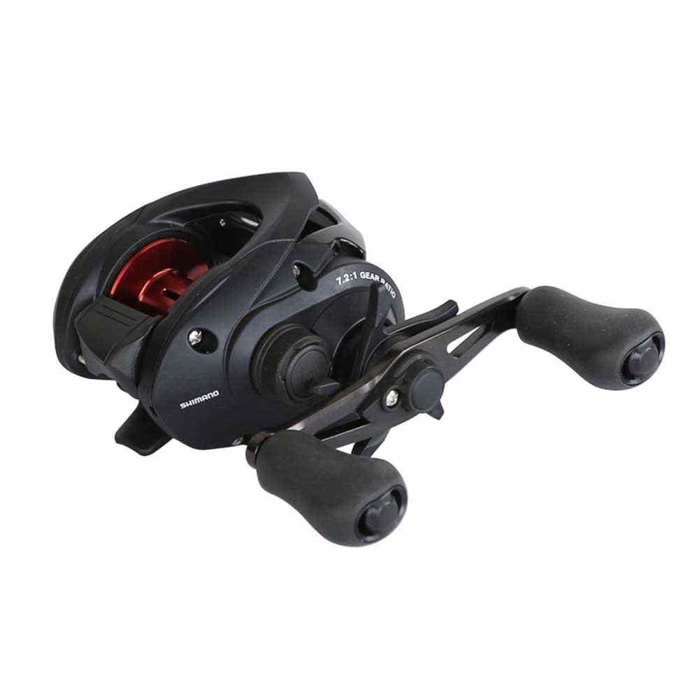 Shimano Bass Rise Baitcasting Reel Fishing 7.2: 1 5.0Kg Power Spool Glad Licht Vissen Rollen