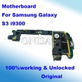 Original & Unlocked for Samsung galaxy S3 motherboard i9300 motherboard mainboard  EU version with full chips Logic Board