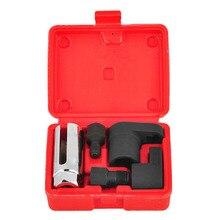 5pcs Oxygen Sensor Socket Wrench Thread Tool Kit for O2 Socket Removal Installation Install Offset Vacuum цены онлайн