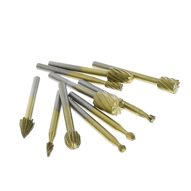 Handwerkzeuge Ootdty 20 Stücke 3mm Hss Gravur Cutter Holz Schleifen Elektrische Dreh Datei Kopf