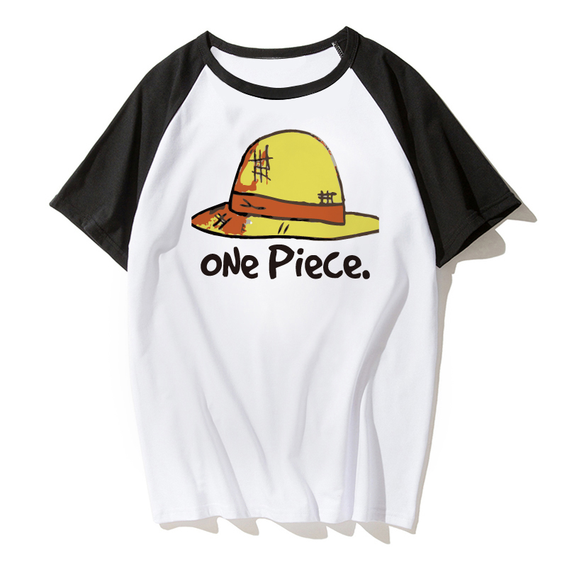 One Piece T shirt 2018 Fashion Japanese Anime Clothing Back Color Luffy T-shirt For Man And Women Brand Camiseta s-xxxl