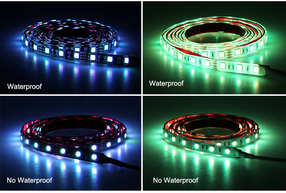 geekoplanet.com - Background Lighting 60LED/m Strip With Music Controller
