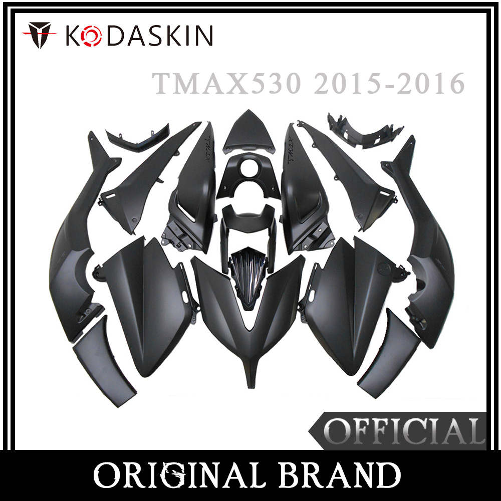 KODASKIN moto TMAX carénage 3D ABS Injection plastique Tmax530 Kit de carénage boulons de carrosserie pour Yamaha Tmax 530 2015 2016
