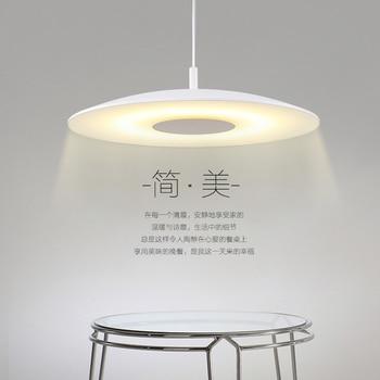 minimalist fashion restaurant chandelier single head bar balcony dining room table Iron  lamp
