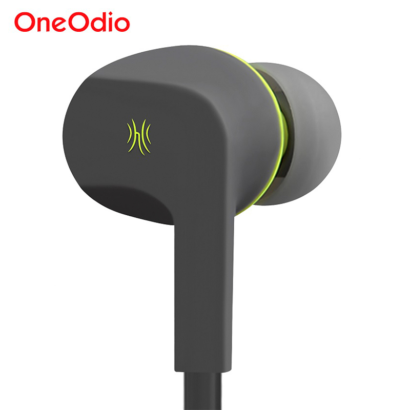 Oneodio Earphone Earbuds Stereo 3.5mm Wired Noise Canceling In Ear Headset With Microphone For Xiaomi iPhone fone de ouvido stereo music headphones 3 5mm wired in ear earphone noise isolating headset earbuds fone de ouvido hands free with mic