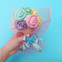 Woow Girls Soft Rose For Squishy Jumbo Gift For Lover 16cm Couple Best Flower Bouquet Slow
