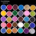 30/ 45pcs Mixed Colors Powder Pigment Glitter Mineral Spangle Eyeshadow Makeup Cosmetic Set Long-lasting 2016 Random Color