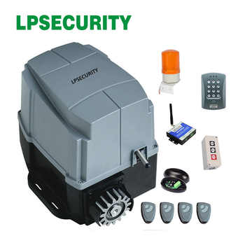 LPSECURITY 800kg AC engine automatic gate system electric sliding gate opener motor foresee - DISCOUNT ITEM  5% OFF All Category