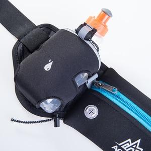 Image 5 - Aonijie E834マラソンジョギングサイクリング水分補給ベルトウエストヒップバッグポーチファニーパックパック電話250ミリリットル水ボトル