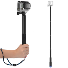 High quality 285mm-925mm monopod for gopro4/ gopro3 /3+/2/ SJCAM SJ3000 SJ4000 Action camera Selfie Sticks for sports camera