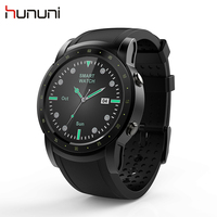 Hununi HW1 Android Bluetooth Watch SIM 3G WIFI GPS with Bluetooth Sports Fitness Tracker Super Big Screen Smart watch Wristwatch
