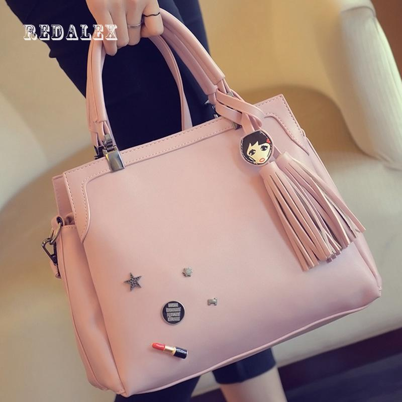 ФОТО The New Badge And Fashion Handbag Tassel Bag  Women Bag