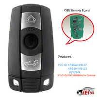 KEYECU KYDZ reemplazo remoto llave de coche Fob 3 botón para BMW 5 Series 323, 325, 328, 330 xi Ci 525, 528, 530, 550, 545, 550, 2006-2011